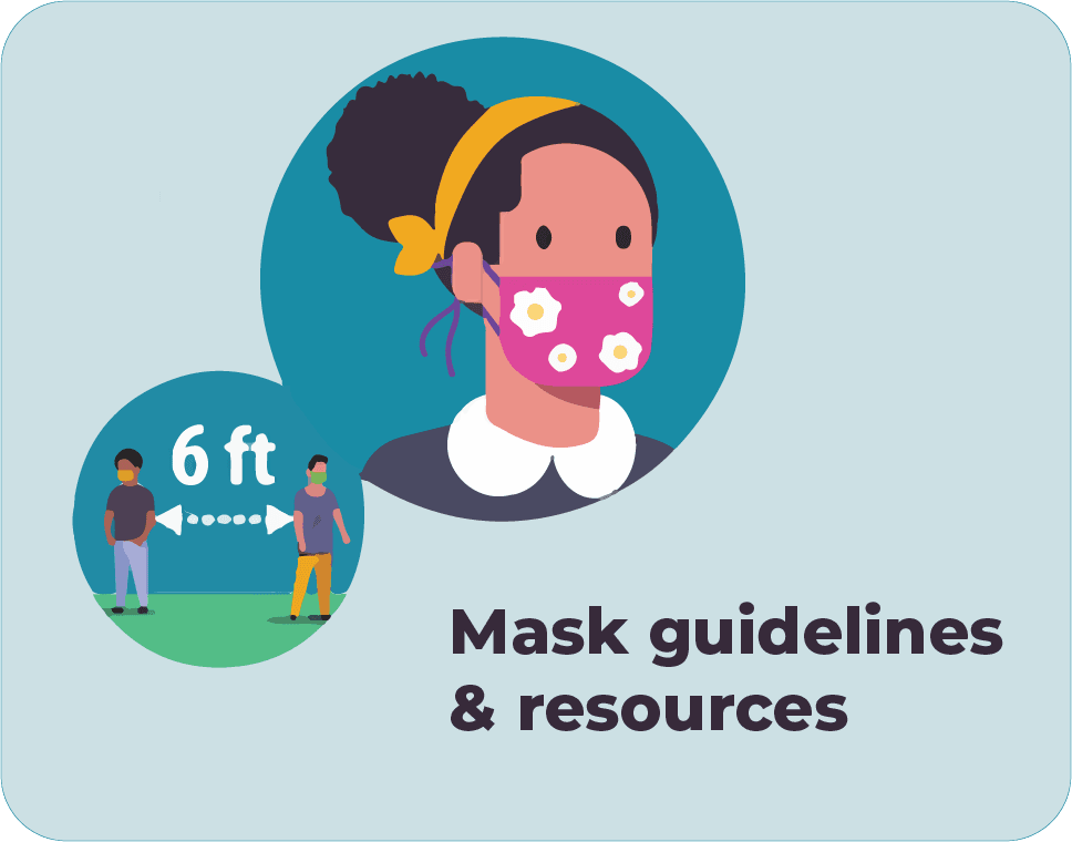 Mask guidelines and resources