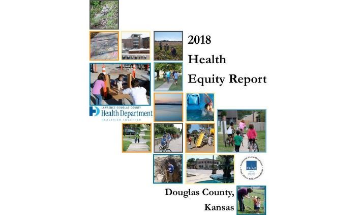2018 Douglas County Health Equity Report cover